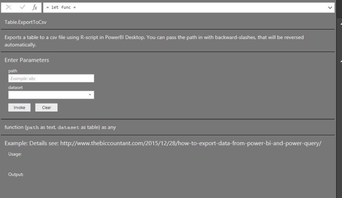 PBI Query Export to CSV   North Dakota Power BI User Group