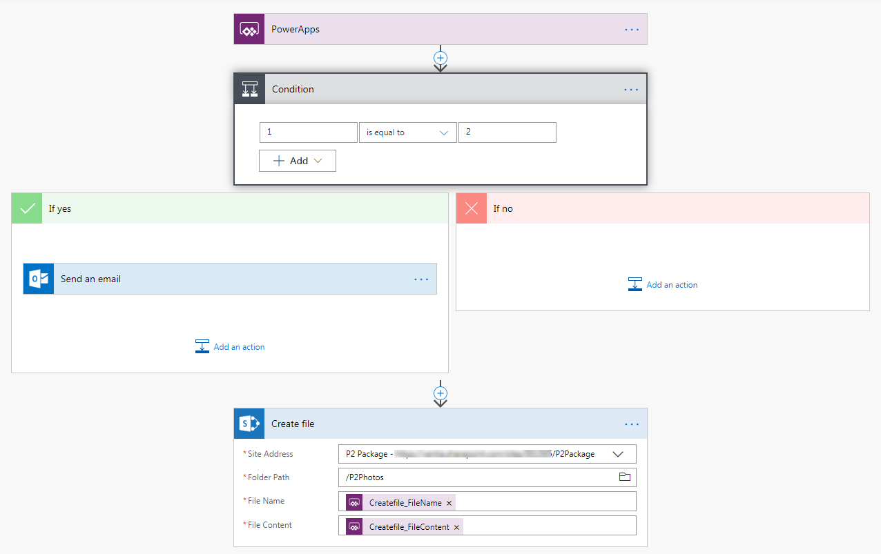 Uploading device photo to SharePoint | PowerApps Exchange