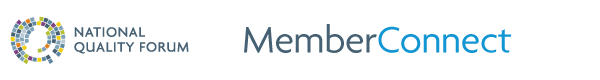 NQF MemberConnect