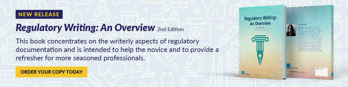 Regulatory Writing: An Overview