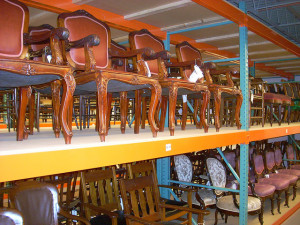 How many chairs can be stored and what is the history they are telling? Photo of a Smithsonian storage facility | Credit: Flickr user Martin Kalfatovic, December 5, 2008