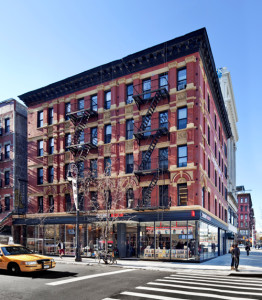 103 Orchard Street with the Sadie Samuelson Levy Immigrant Heritage Center | Credit: Lower East Side Tenement Museum