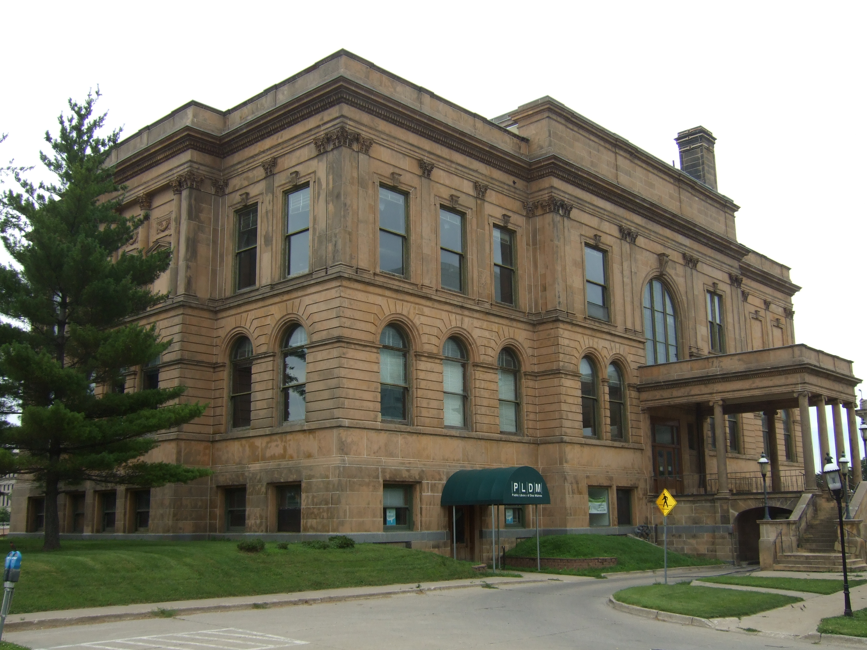 The forum reference desk on the trail of national register listed the former des moines public library now the dr norman e borlang world food prize hall of laureates is the first national register of historic places 1betcityfo Choice Image