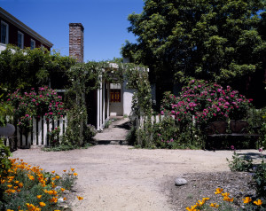 Exterior view of Cooper-Molera Adobe. | Credit: National Trust for Historic Preservation
