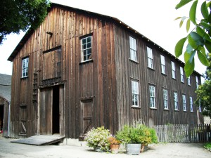 The barn at Cooper-Molera Adobe. | Credit: National Trust for  Historic Preservation