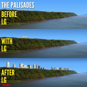 Visualization of LG Tower on the Palisades | Courtesy Protect the Palisades