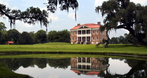 Drayton Hall from across the pond. | Credit: Wade Lawrence