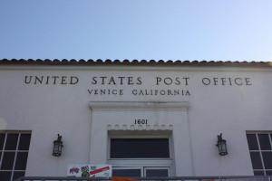 Exterior of the Venice, California Post Office | Credit:  Michael Dorausch on Flickr via Creative Commons