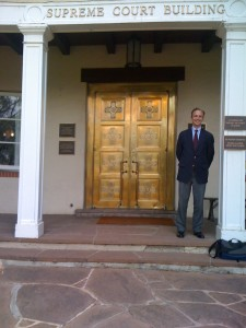Will Cook at the New Mexico Supreme Court | Credit: National Trust for Historic Preservation