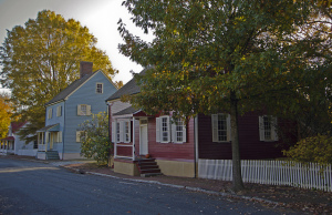 Homes at Old Salem, NC; | Credit:  Usually Melancholy via Flickr,Creative Commons