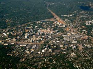 America's suburbs – from streetcar to postwar boom 'burbs – are ripe for renewal. View of Tyson's Corner, VA | Credit: La Citta Nuova via Flickr under Creative Commons