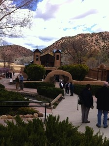 The pilgrimage site Santuario de Chimayo in New Mexico. | Credit: Thompson Mayes