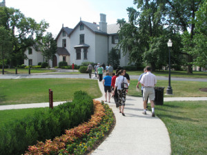 Preservation in the 21st Century: President Lincoln's Cottage at the Soldier's Home, Washington, D.C.   Credit: President's Lincoln's Cottage