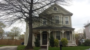The James Armstrong House, one of the town's oldest, constructed in 1905.   Credit: Lawana Holland Moore
