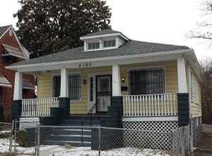 The 1928 bungalow-style Doswell Brooks House in the historic district.   Credit: Lawana Holland Moore