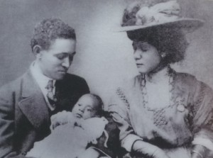 William Sidney Pittman, first African American architect to receive a federal commission, and his wife Portia, daughter of Booker T. Washington   Credit: Library of Congress; file: Wm Sidney Pittman