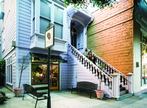 Although Marcus Books was declared a City Landmark in January 2014, the designation could not prevent the eviction of the business and its owners. The City is now working with the owners of Marcus Books to relocate the store to a new space a few blocks away. | Courtesy San Francisco Heritage