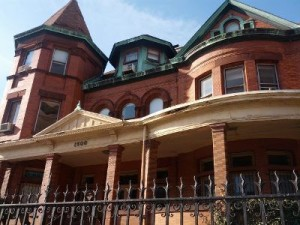 """The vacant and deteriorating Emerson mansion in Baltimore is the subject of a current receivership action."""" 