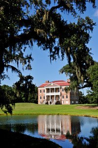 View of Drayton Hall from across the pond.   Credit: Robbin Knight