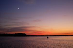 The Lower James River at Dusk | Credit: James River Association