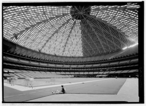 Interior of the Astrodome | Credit:  Photo courtesy Library of Congress
