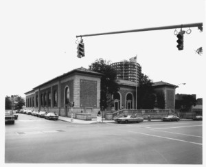 Exterior of the Stamford Post Office on Atlantic Avenue   Credit: Dennis Griggs/Tannery Hill