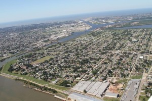 Aeriel view of the Lower 9th Ward in 2011. | Credit: Lower 9th Ward Center for Sustainable Engagement and Development
