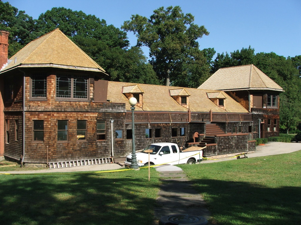 Completed project - rear elevation. | Credit: National Trust for Historic Preservation