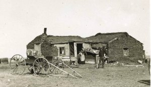 Theadore Roosevelt Ranch Homestead | Credit: State Historical Society of North Dakota