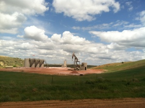 Well Pads near Elkhorn Ranch