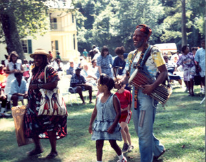 Attendees at the 1993 Somerset Homecomings. | Credit: NC Historic Sites and Properties.