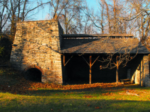 Catoctin Furnace in Cunningham Falls State Park, Maryland. | Credit: PeteFourwinds via Wikipedia