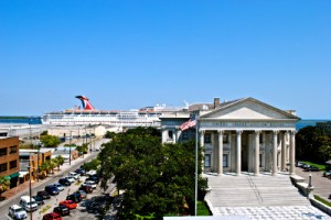 The number of cruise ships in Charleston has increased exponentially. | Photo: National Trust