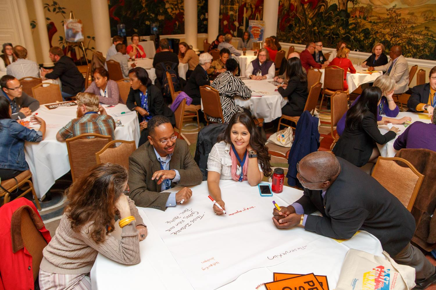 Participants during the Diversity Summit breakout at PastForward 2015. | Credit: David Keith Photography