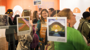 "The ""Yes on 8 Action Center"" launched with an Instagram photo exhibit featuring images taken by local bloggers on a special behind-the-scenes tour of Union Terminal.
