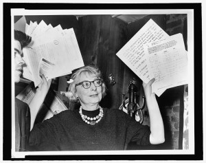 Photo Credit: New York World-Telegram and the Sun Newspaper Photograph Collection, Jane Jacobs | Credit: Library of Congress, Reproduction Number: LC-USZ-62-137838.