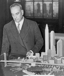"Jacobs had a powerful rival in Robert Moses, then New York City's powerful ""construction coordinator."" The two clashed over plans to build a freeway through Manhattan, but Jacobs ultimately prevented the project, likely preserving large swaths of Greenwich Village and SoHo from demolition. 