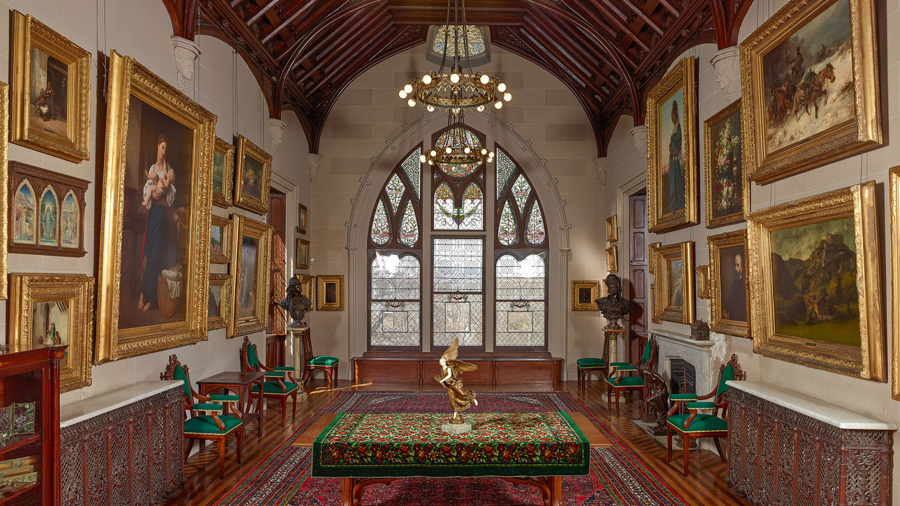 Lyndhurst In Tarrytown NY Used Funds From Deaccessioning For The Care And Conservation Of Collections Its Art Gallery