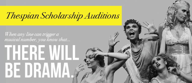 Thespian Scholarship Auditions