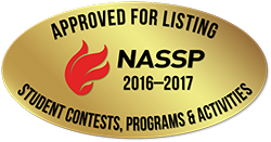 Approved for listing, NASSP 2016-2017. Student contests, programs, and activities. https://www.nassp.org/news-and-resources/nassp-approved-student-programs