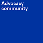 Advocacy community