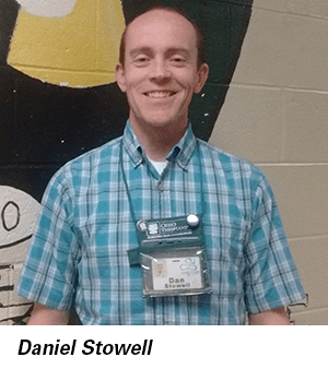 Daniel Stowell headshot