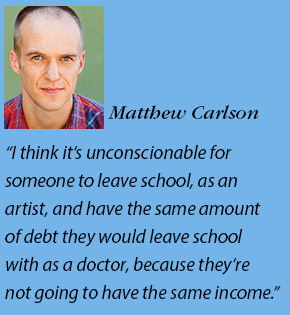 Matthew Carlson headshot and quote