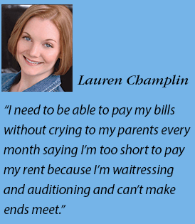 Lauren Champlin headshot and quote