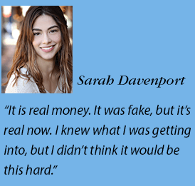 Sarah Davenport headshot and quote