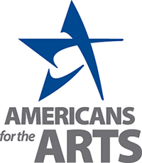 Americans for the Arts logo and website link