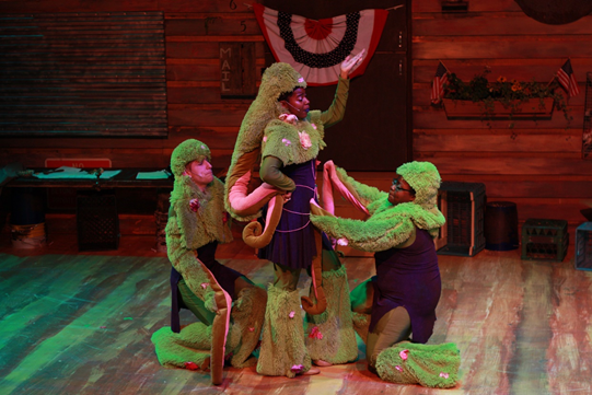 From Jimmy!: A Musical Fable with Almost No Historical Basis, at the Irondale Center, 2014