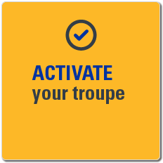 Activate your troupe.