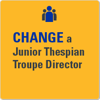 Change a Junior Thespian troupe director.