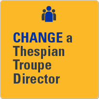 Change a Thespian troupe director.